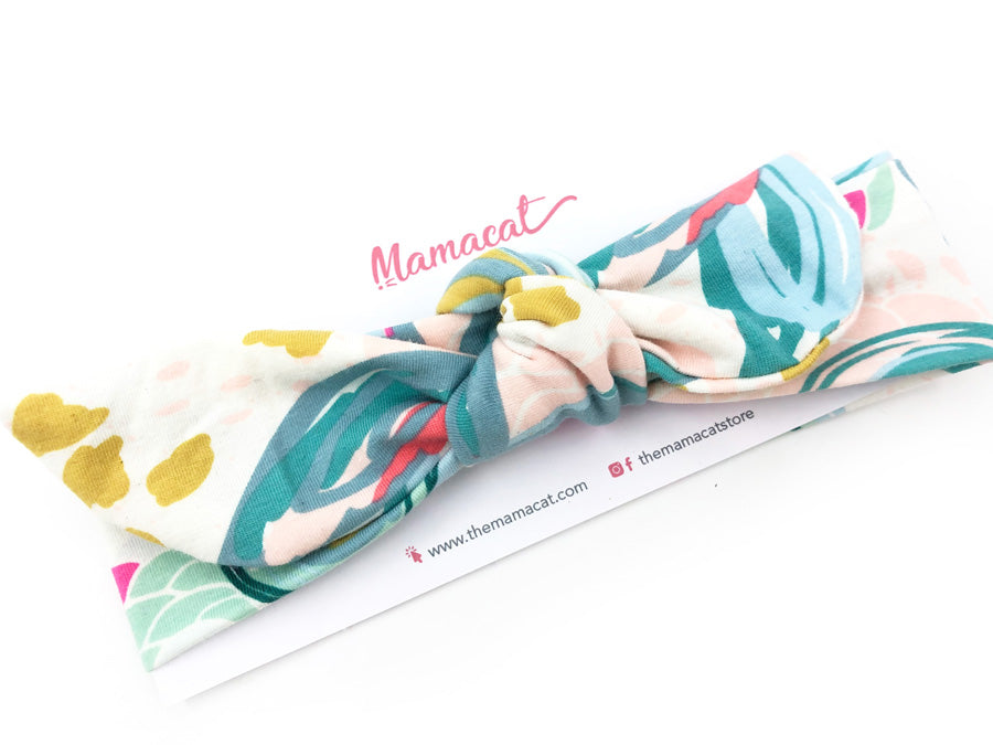 Notty Headband Blooms Reverie