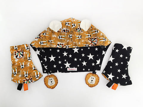 IN-STOCK Tula Hood Lion Set
