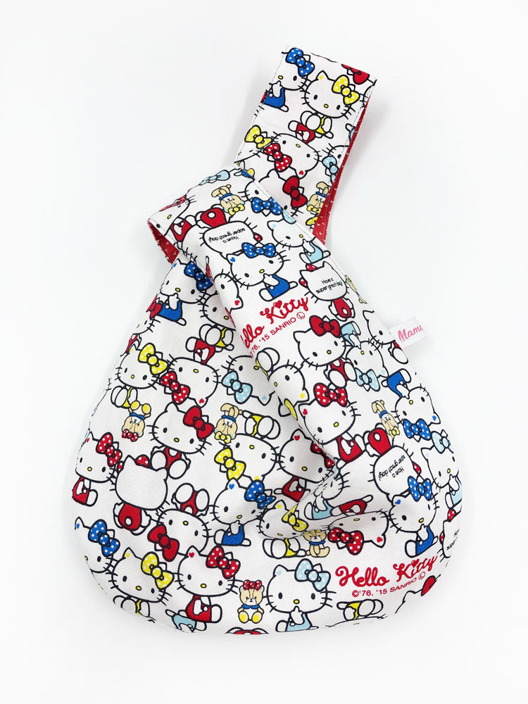 PRE-ORDER Knot Bag Hello Kitty Red Blue