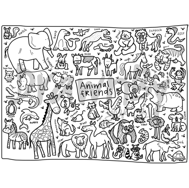 PRE-ORDER DrawnBy: Set (Animal Friends)