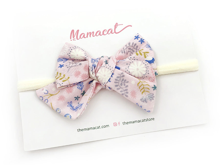 Bow Headband Floral Dreams