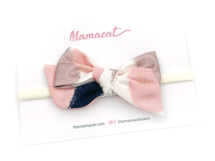 Bow Headband Rose Gold Patch