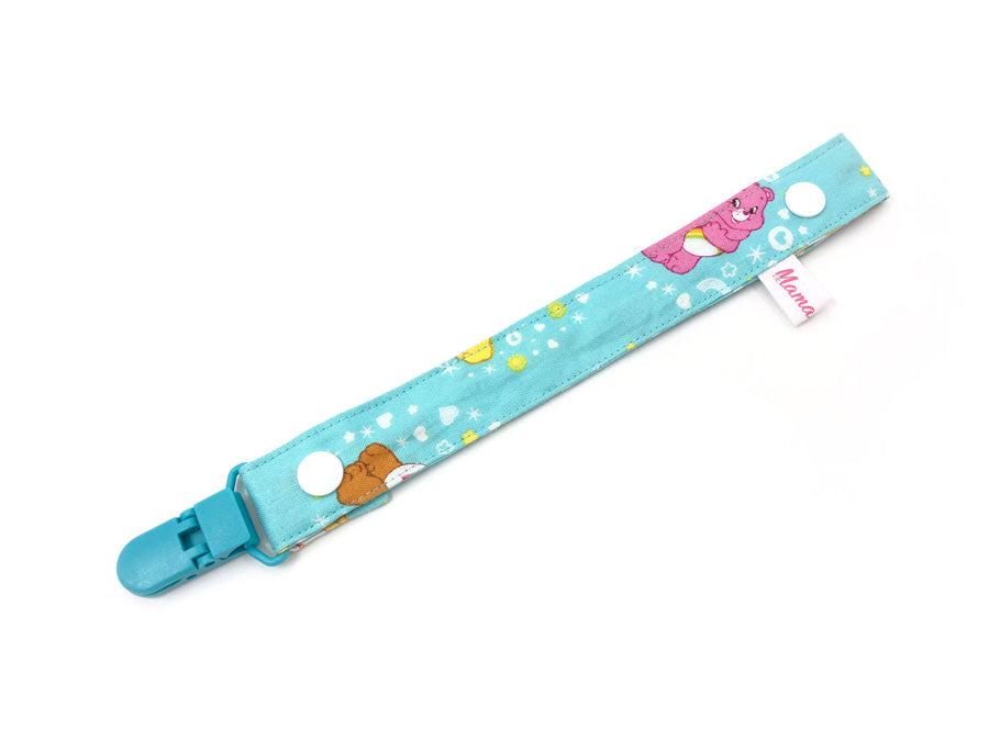 PRE-ORDER Pacifier Strap Care Bear Mint
