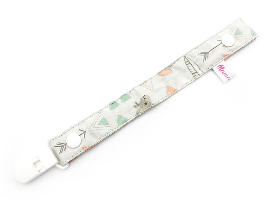 IN-STOCK Pacifier Strap AnimalFeathers