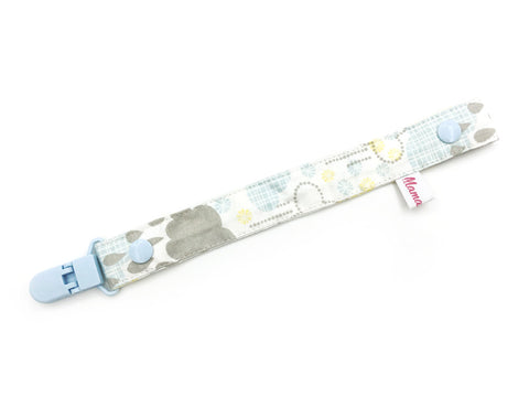 IN-STOCK Pacifier Strap Blue Cloud Sparky