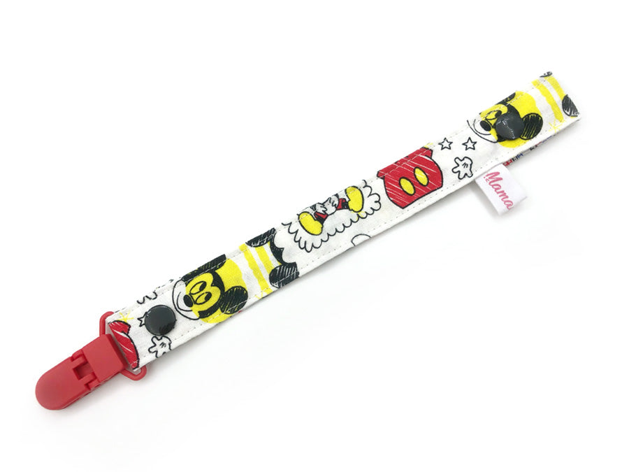 IN-STOCK Pacifier Strap Mickey Primary