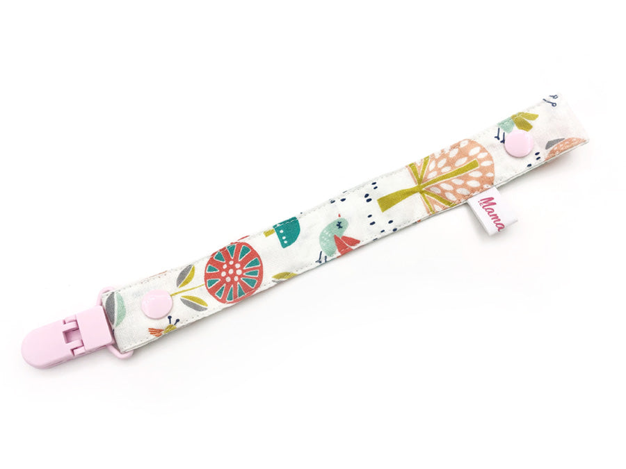 IN-STOCK Pacifier Strap Pastel Forest