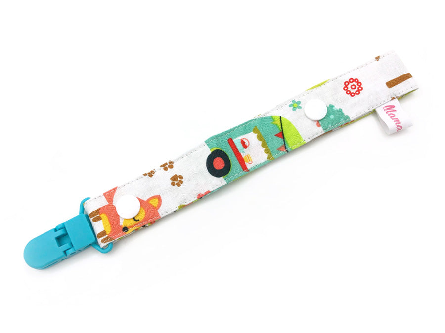 IN-STOCK Pacifier Strap Smores White