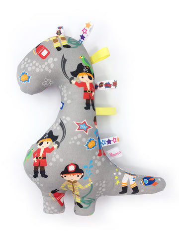 IN-STOCK Rattle Dinosaur Boys World