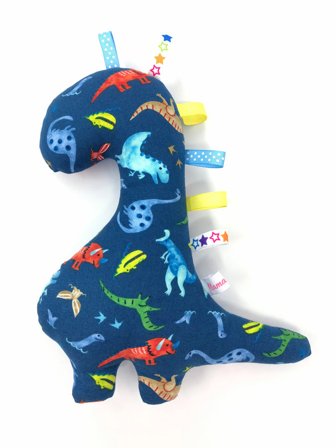 IN-STOCK Rattle Dinosaur Sea Dinos Navy
