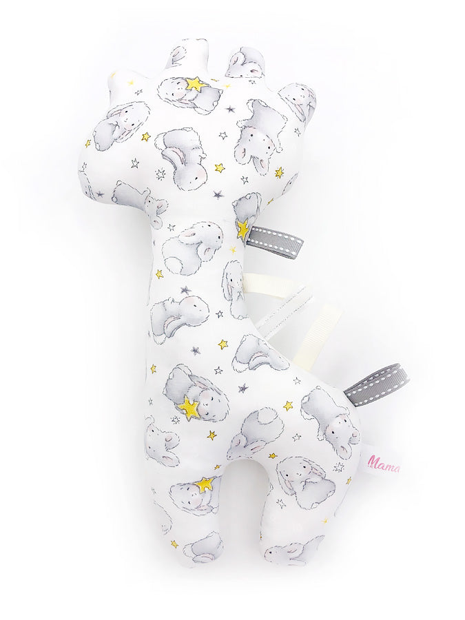 IN-STOCK Rattle Giraffe Bunny Stars