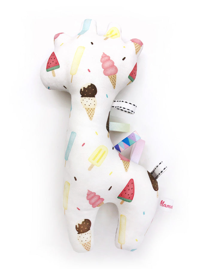 IN-STOCK Rattle Giraffe Ice Cream Confetti