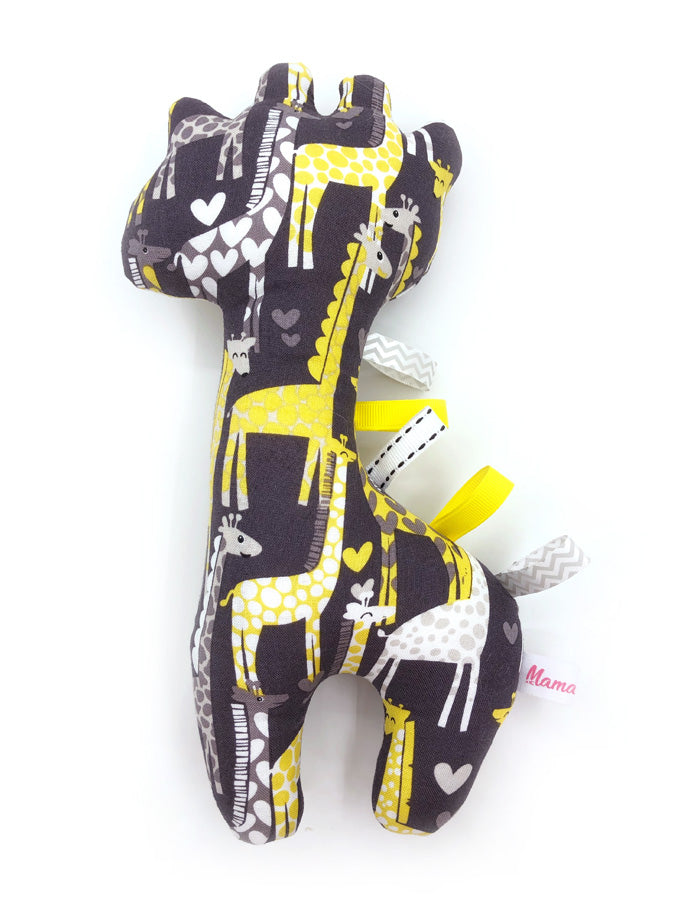 IN-STOCK Rattle Giraffe Yellow Love