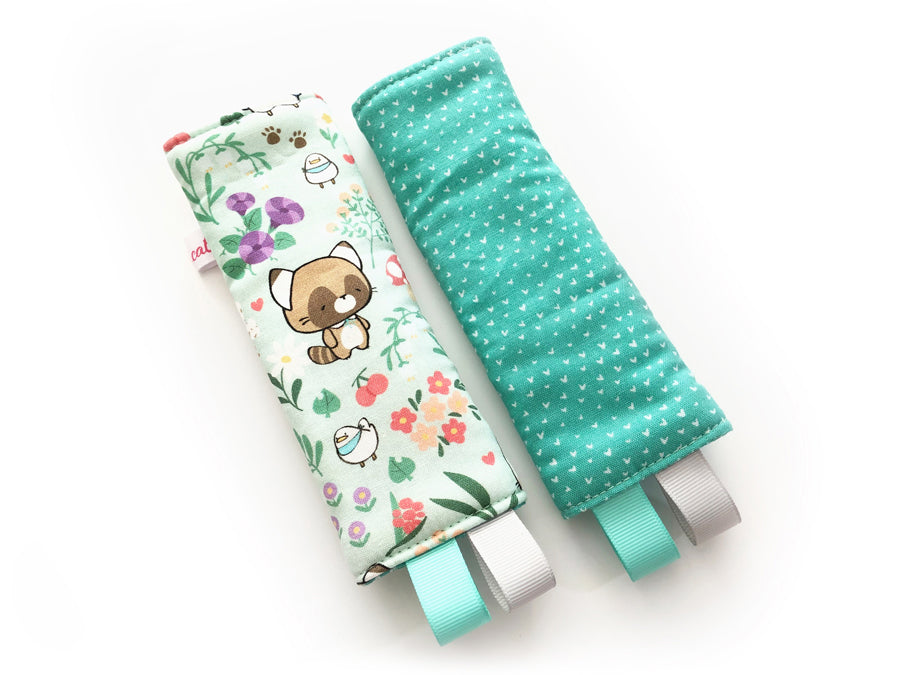 PRE-ORDER Seat Belt Pad Mint Forest