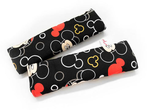IN-STOCK Side Pads Black Mickey