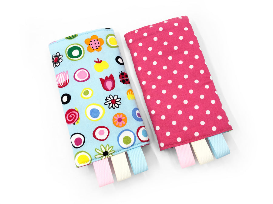IN-STOCK Straight Drool Pads Flower Power