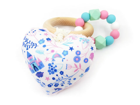 Teether Ring Princess Garden