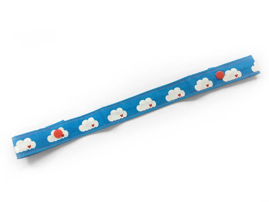 PRE-ORDER Toy Strap Clouds on Blue