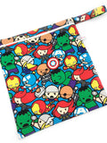 PRE-ORDER Wet Bag Chibi Marvel Blue