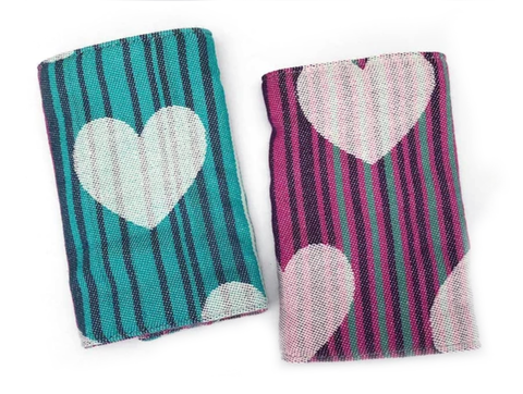 IN-STOCK Woven Drool Pads Tula Love Selene