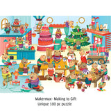 Makermax - 100 Piece Jigsaw Puzzle