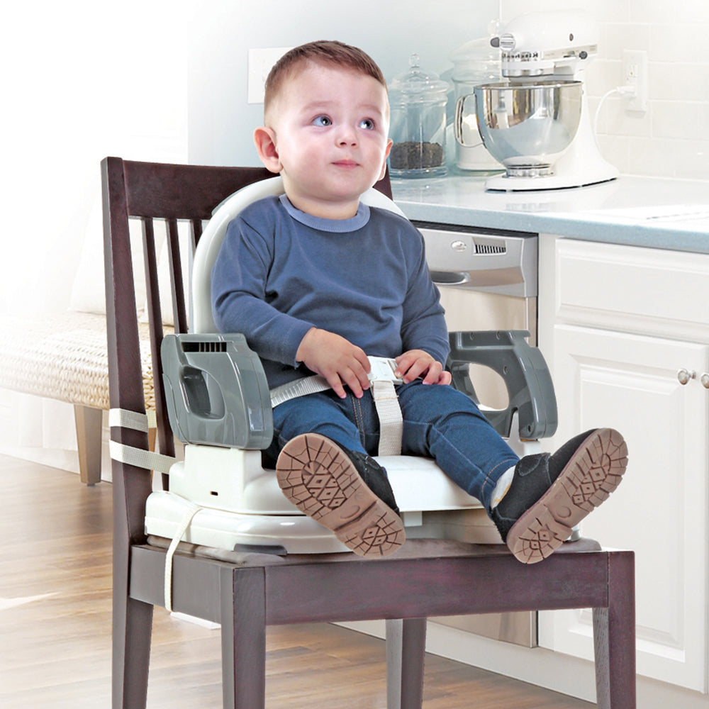 Mastela Booster to Toddler Seat - Grey, 6M+