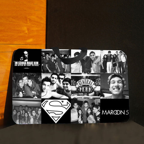Lap pad <br> Personalised with 12 Photos
