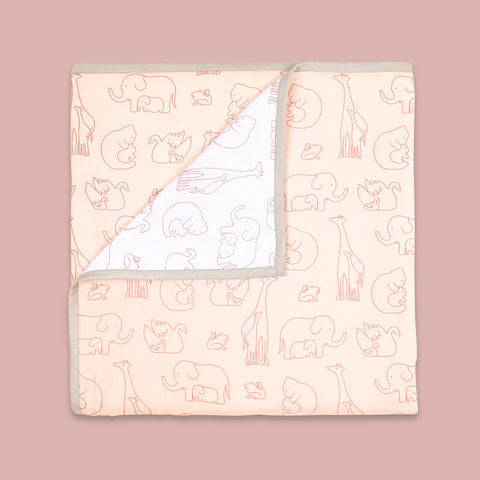 Masilo Organic Dohar Blanket - Always Be My Baby