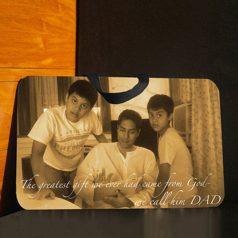 Lap pad <br> Personalised with 1 Photo