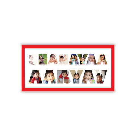 Double the Love Name Frame