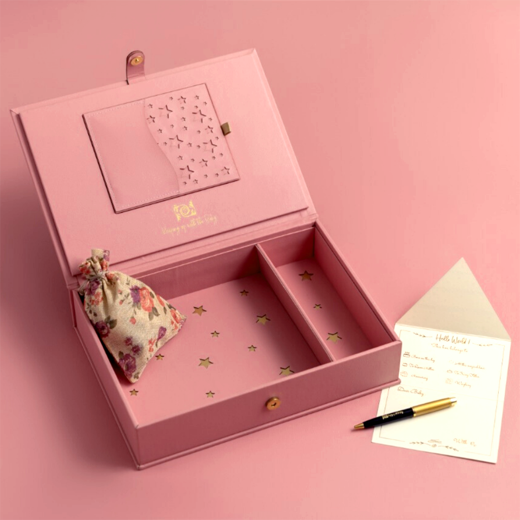 All Things Love Memory Box - Peony Pink