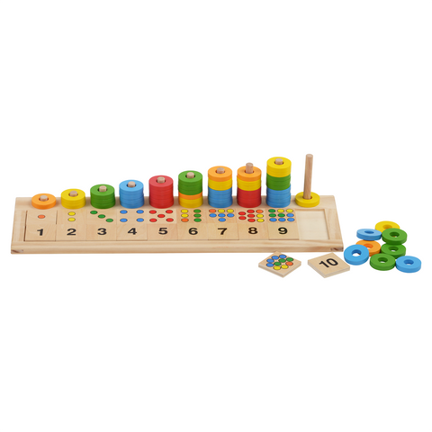 HABA Rings, Colours & Numbers