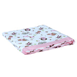 Muslin Blanket 2 Layered - Pink