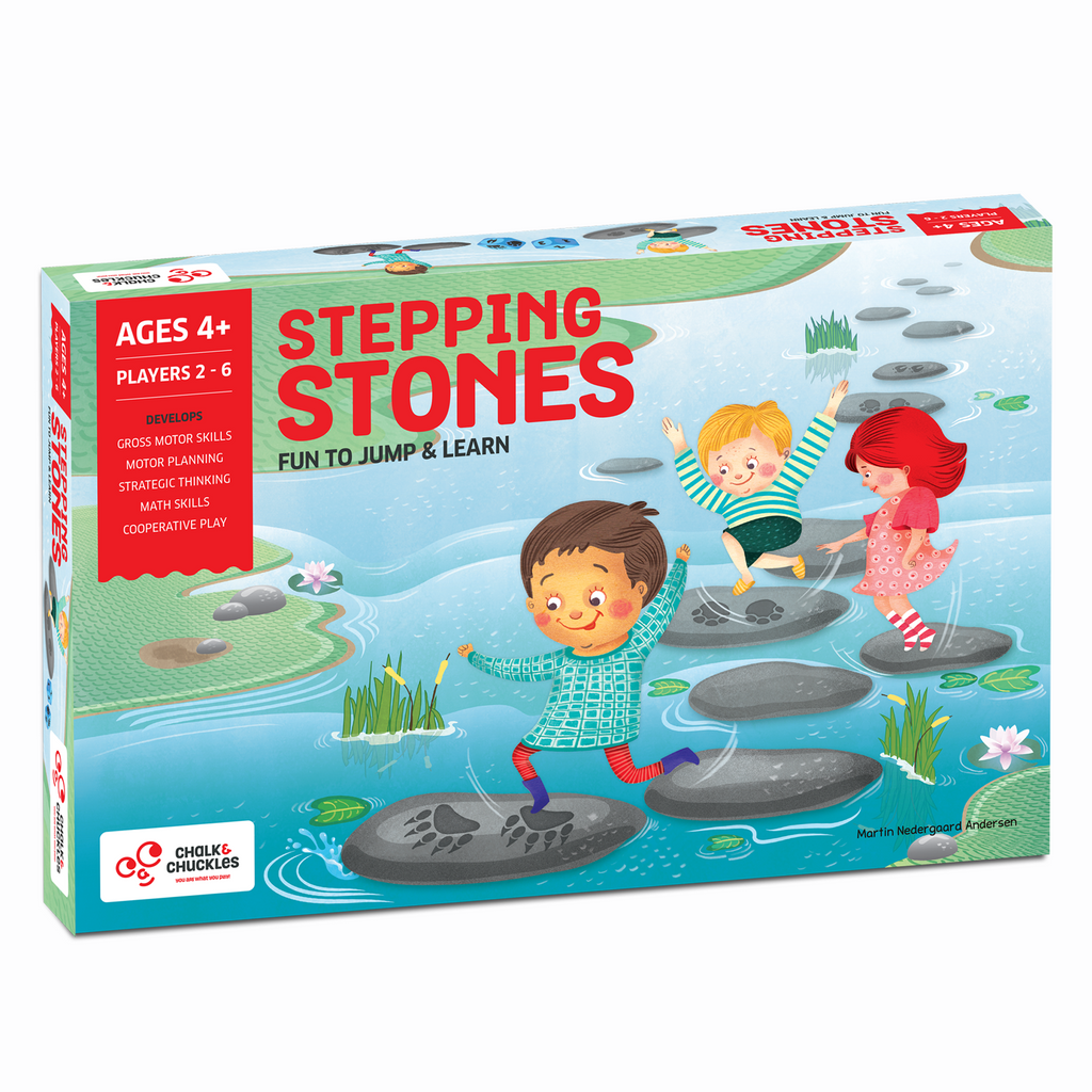 Stepping Stones - Active Movement Math Game