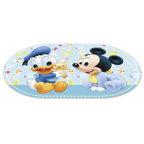 Stor Oval Offset Placemat Ready to Play Mickey Baby Paint Pot - Multicolor