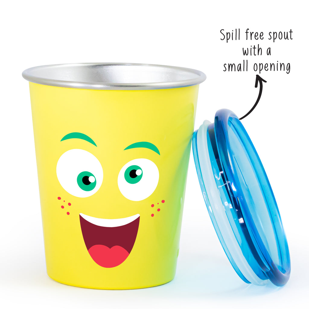 Spill Free Stainless Steel Cup - Mad Eye