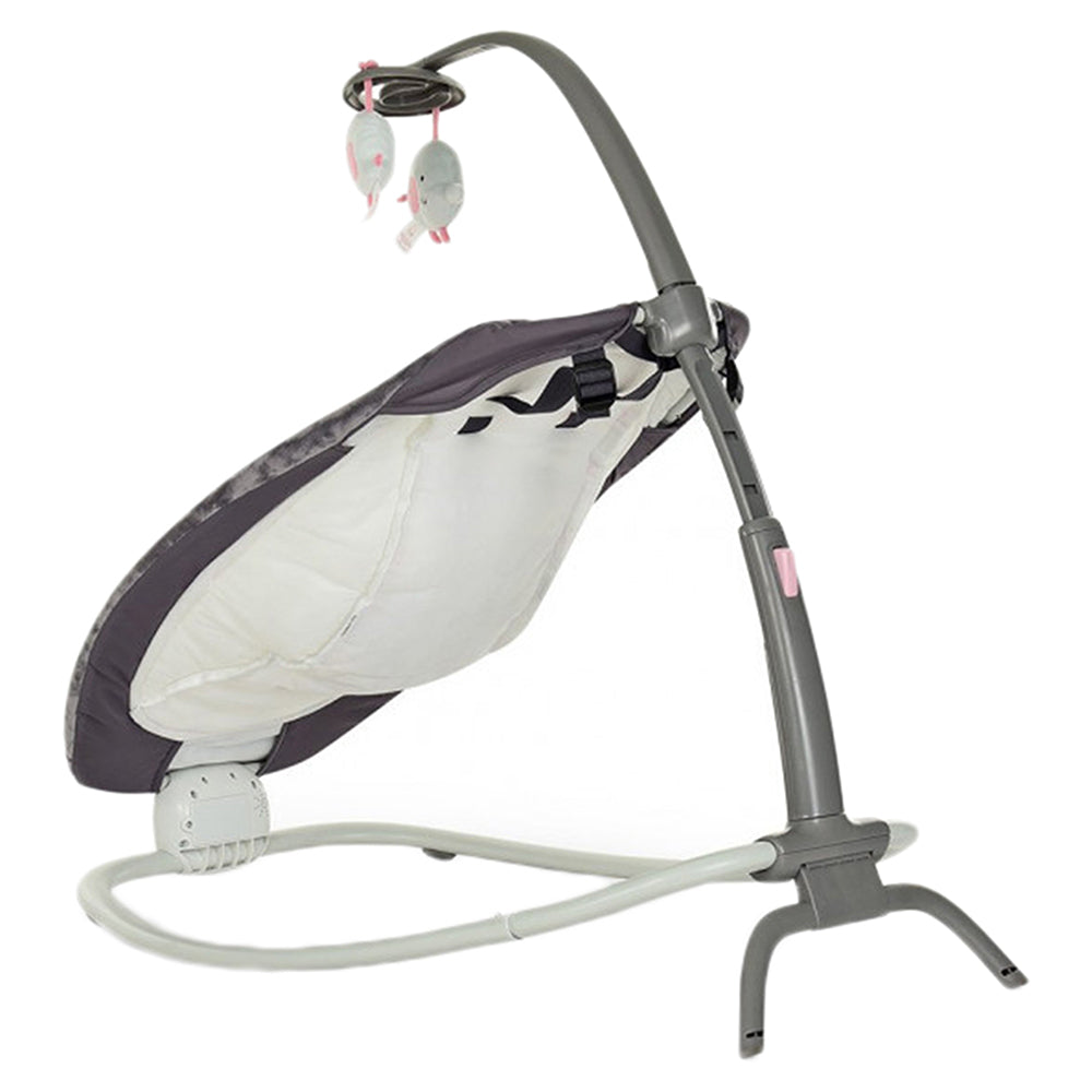 Mastela Fold Up Baby Rocker (Grey, Pink)