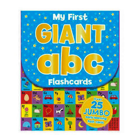 "My First Giant Flash Cards: ABC<br> <span style=""font-size: 11px; font-family:Helvetica,Arial,sans-serif;"">27 Giant Flash Cards</span>"