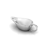 Sterling Silver Flat Medicine Porringer With Victorian Handle
