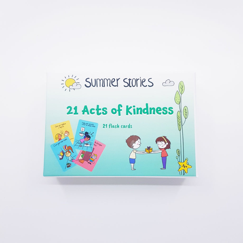 Summer Stories - 21 Acts of Kindness