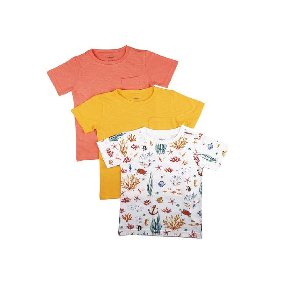 Organic Kids Tee - Awesome Threesome, Pack of 3