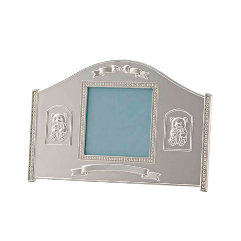 Frazer & Haws 92.5 Silver Plated Photo Frame - Bear