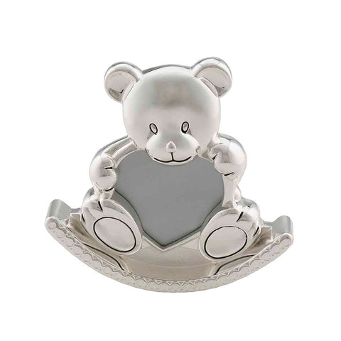 Frazer & Haws 92.5 Silver Plated Photo Frame - Bear Shape