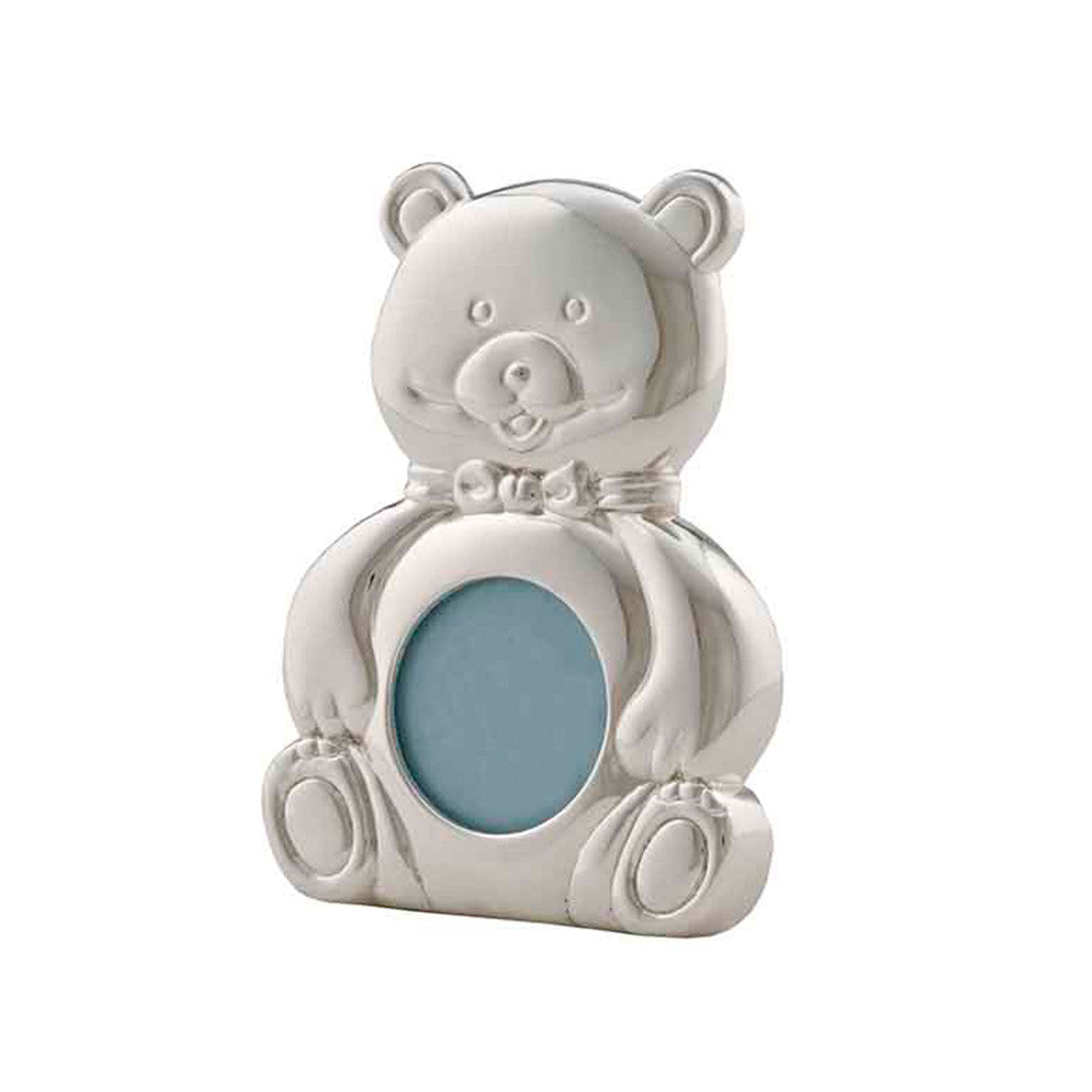 Frazer & Haws 92.5 Silver Plated Photo Frame - Mini Bear Shape