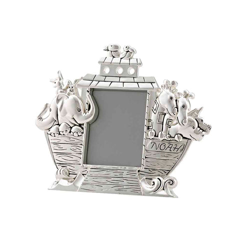 Frazer & Haws 92.5 Silver Plated Photo Frame - Noah's Ark