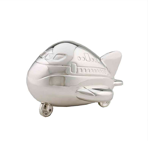 Frazer & Haws 92.5 Silver Plated Money box - Aeroplane