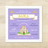 Birth Memory Frame - Little Princess