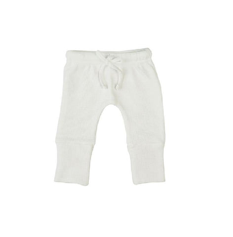Organic Textured Knit Pants - Boss Baby