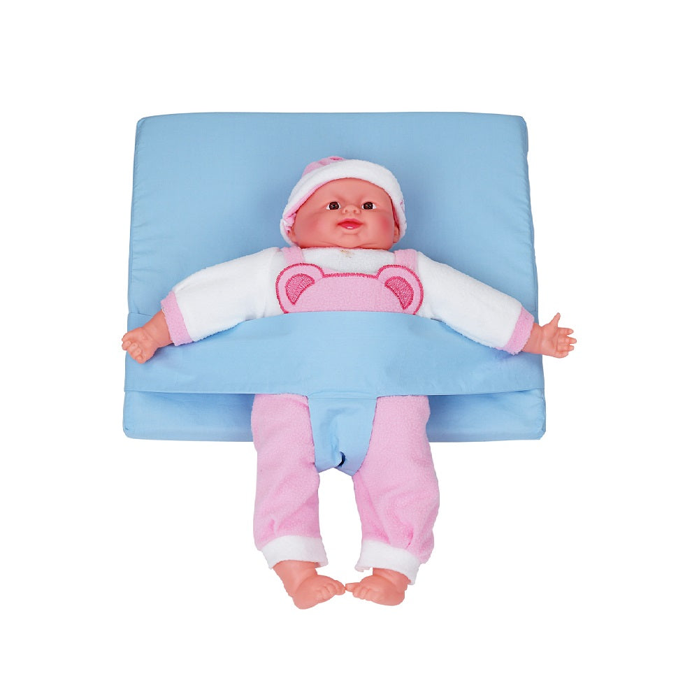 Comfeed Baby Reflux Wedge Pillow with Adjustable Safety Belt