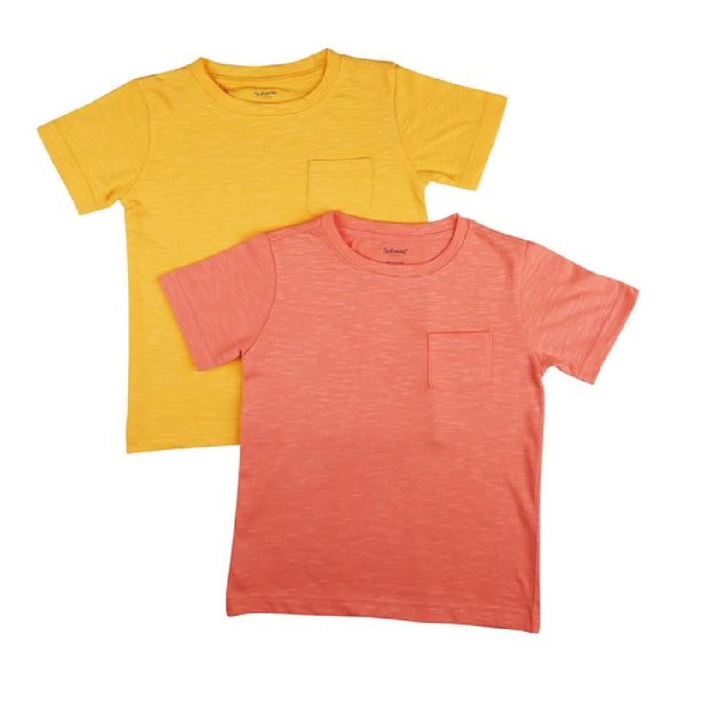 Organic Kids Tee - Back to Basics, Pack of 2